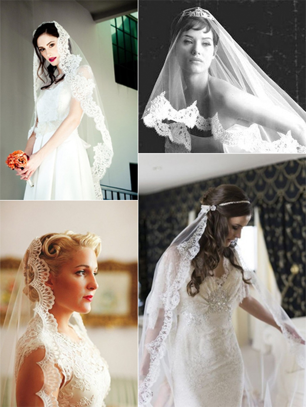 Mantilla Veils | Confetti.co.uk