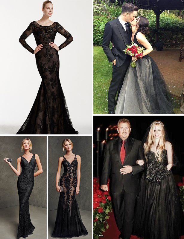 Black Wedding Dresses | Confetti.co.uk