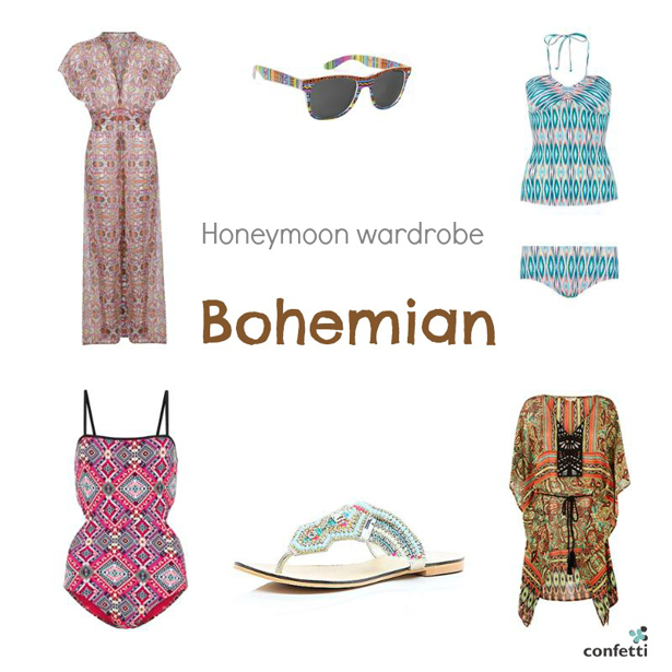 Must-haves for your Honeymoon Wardrobe | Bohemian honeymoon wardrobe | More honeymoon inspiration from Confetti.co.uk