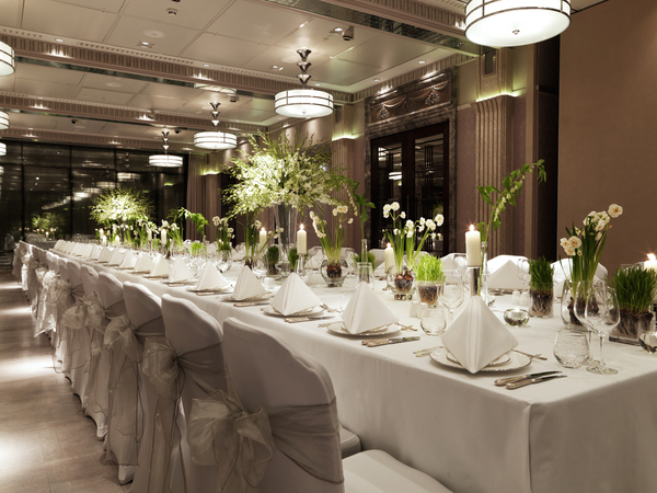 Connaught London wedding venue top table