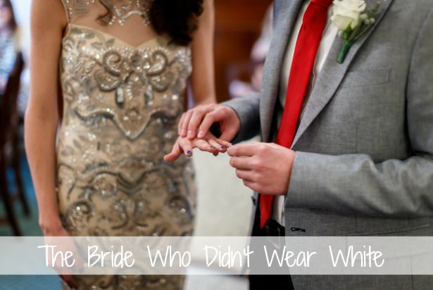 The Bride Who Didn't Wear White | Confetti.co.uk