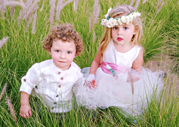 Flower girls and page boys at a wedding | Confetti.co.uk