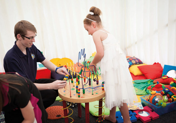 Wedding creche services offer the best of both worlds | Confetti.co.uk