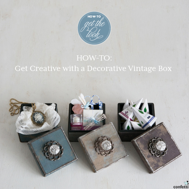 DIY Perfect Bridesmaids Gift Boxes | Confetti.co.uk