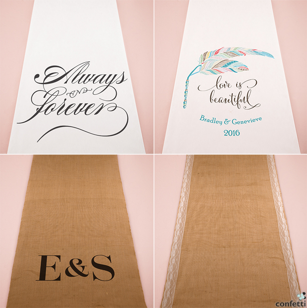Aisle Runners | Confetti.co.uk