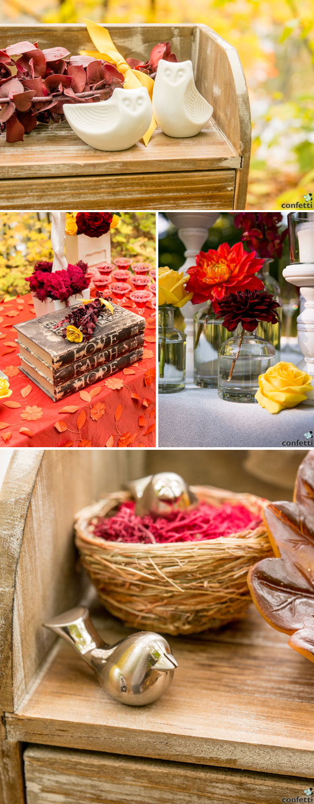 Autumn Wedding Decorations | Confetti.co.uk