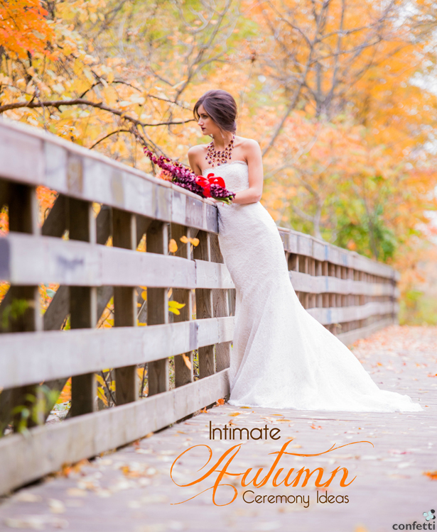 Intimate Autumn Ceremony Ideas | Confetti.co.uk