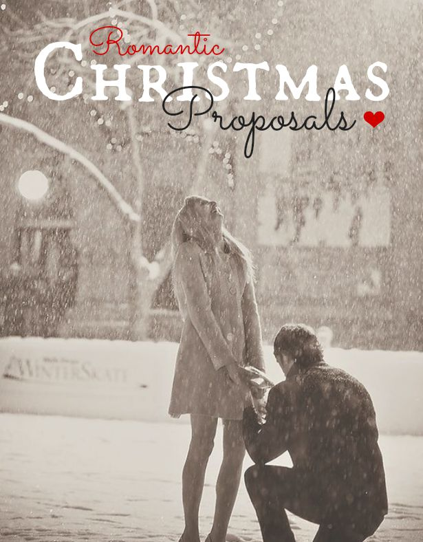 Romantic Christmas Proposals | Confetti.co.uk
