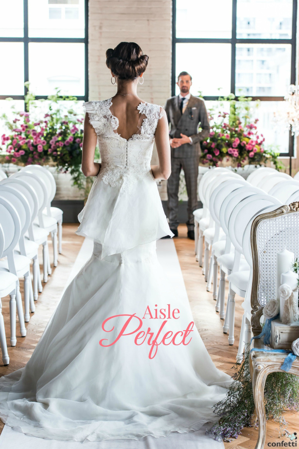 Aisle Perfect Wedding Inspiration | Confetti.co.uk