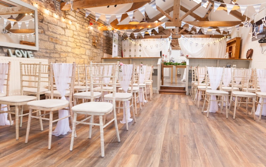 Ceremony at Barn on the Bay