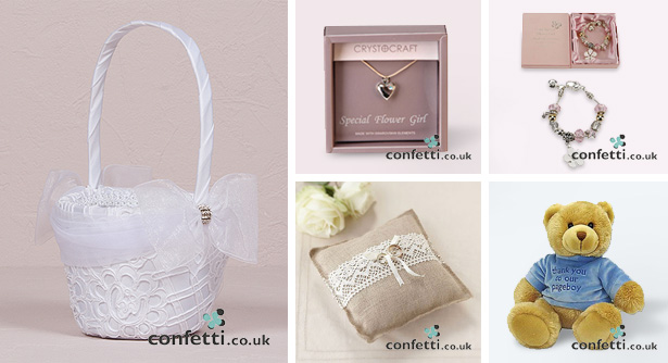 Gifts for Flower Girls and Page Boys
