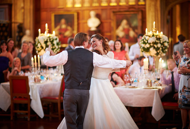 First dance at Laura and Kris's real wedding by Douglas Fry | Confetti.co.uk