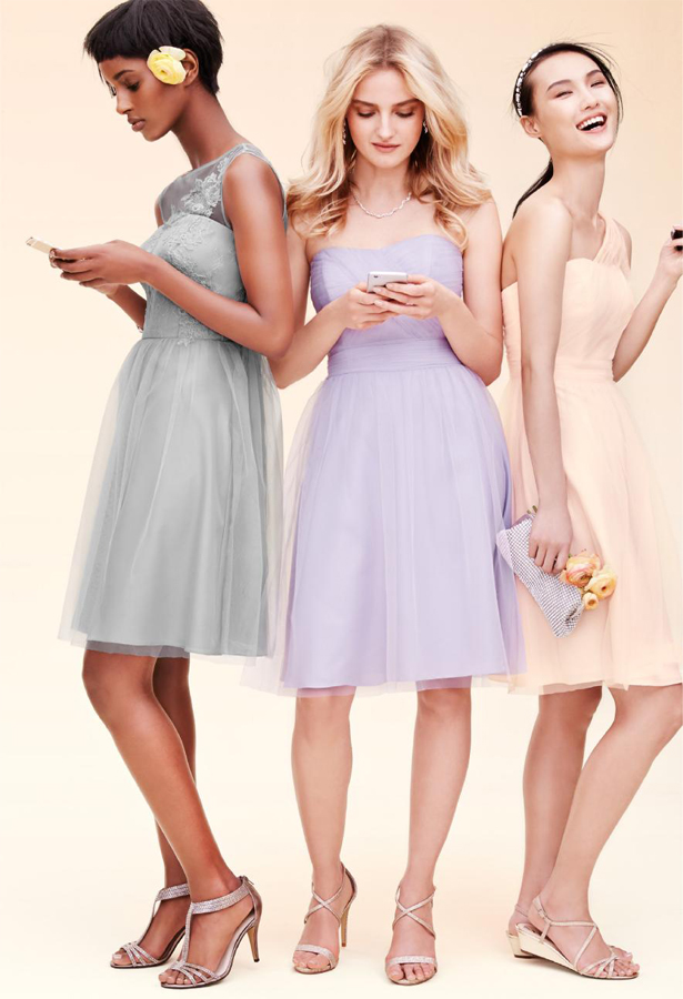 David's Bridal Bridesmaid Dresses | Confetti.co.uk
