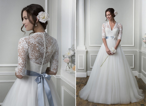 Lace Back and Sleeves by Lillian West | Confetti.co.uk