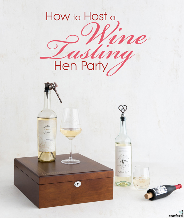 How to Host a Wine Tasting Hen Party | Confetti.co.uk
