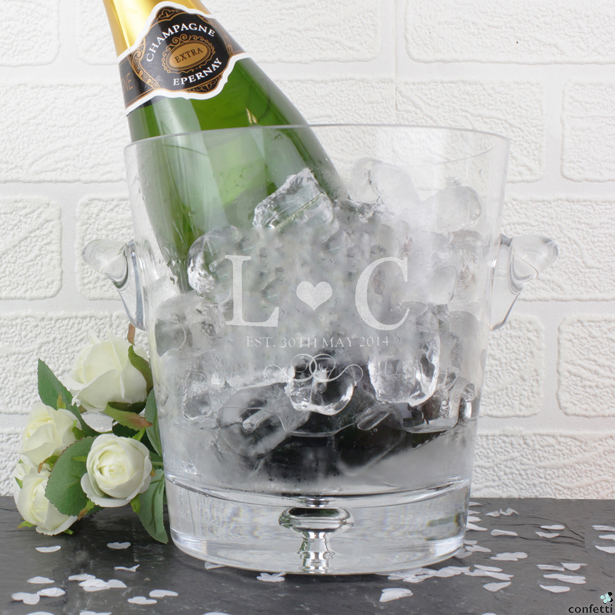 Personalised Ice Bucket | Confetti.co.uk