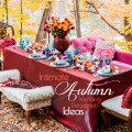 Intimate Autumn Wedding Reception Ideas | Confetti.co.uk