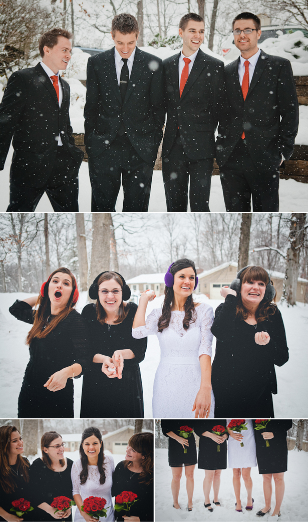 Wedding Fun in the Snow | Confetti.co.uk