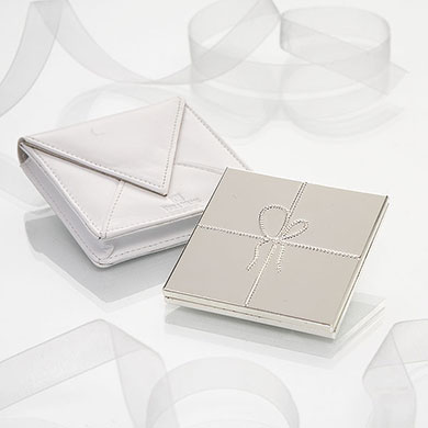 Vera Wang Love knots Compact Mirror from Confetti.co.uk