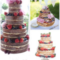 11 of the best naked wedding cakes | Confetti.co.uk