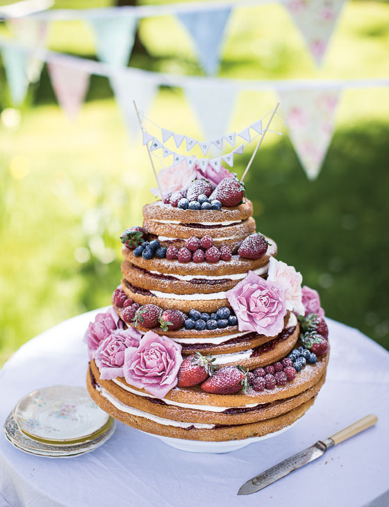 DIY your own naked wedding cake | Confetti.co.uk