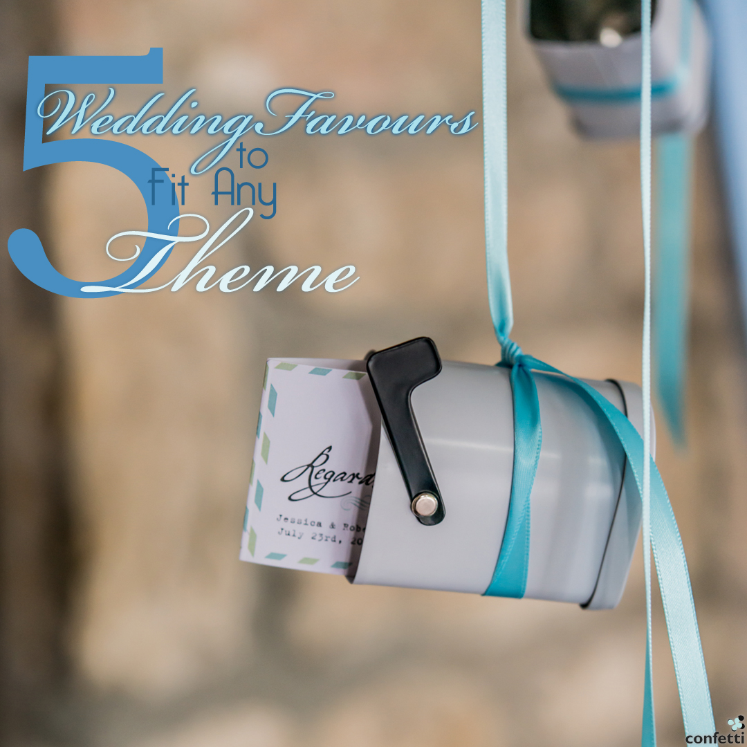 5 Wedding Favours to Fit Any Theme | Confetti.co.uk