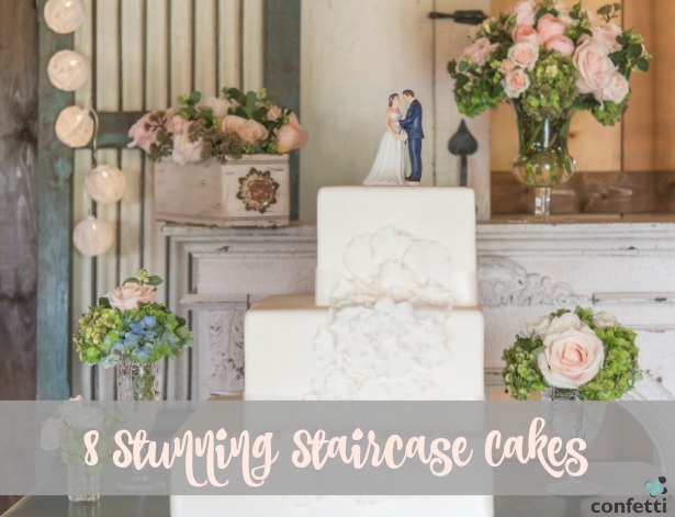 8 Stunning Staircase Cakes