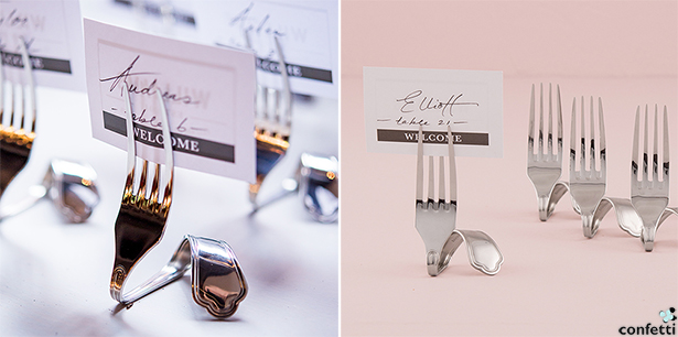 Industrial City Wedding Place Card Holders | Confetti.co.uk