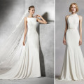 Crepe Wedding Dresses | Confetti.co.uk