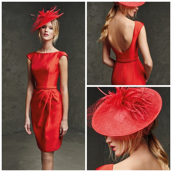 Red hat by Pronovias | Confetti.co.uk