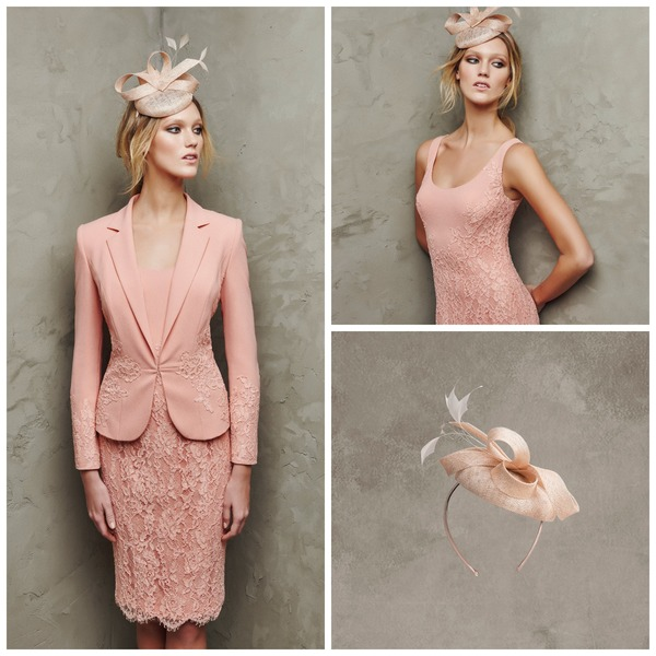 Pale pink fascinator by Pronovias | Confetti.co.uk