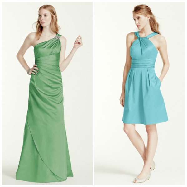 Guest dresses by David's Bridal | Confetti.co.uk
