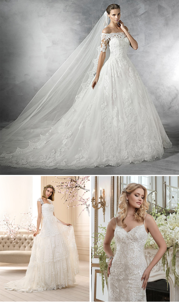 Lace Wedding Dresses | Confetti.co.uk