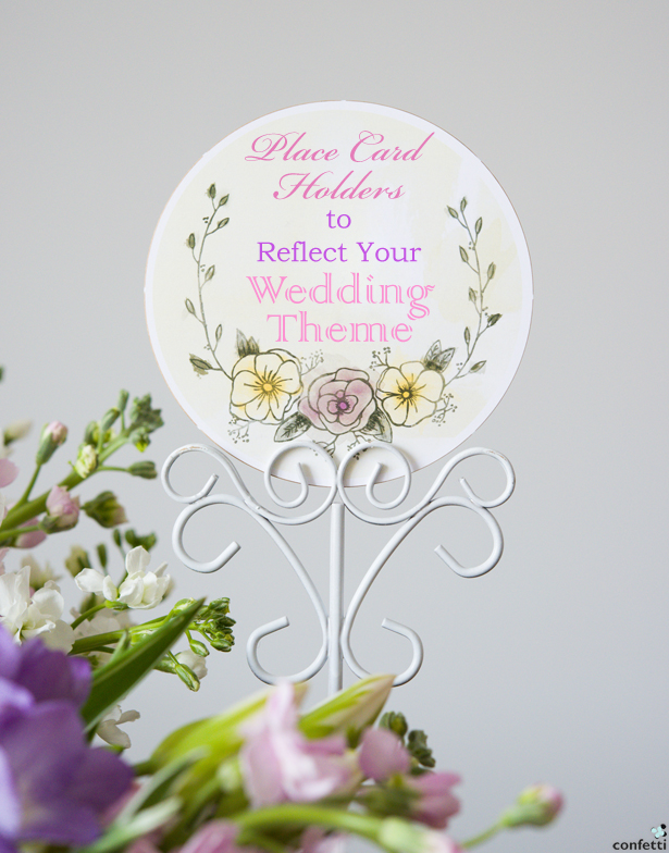 Place Card Holders to Reflect Your Theme | Confetti.co.uk