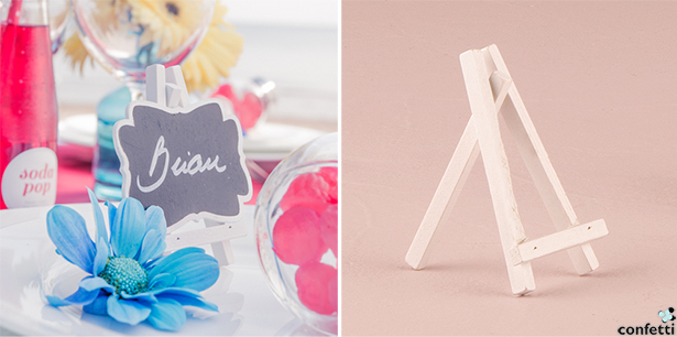 Retro Wedding Place Card Holders | Confetti.co.uk