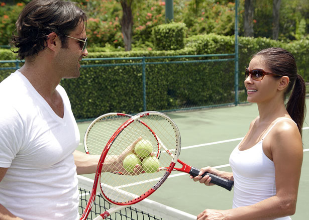 Stay limber after your nuptial celebrations with a match or two of tennis | Confetti.co.uk