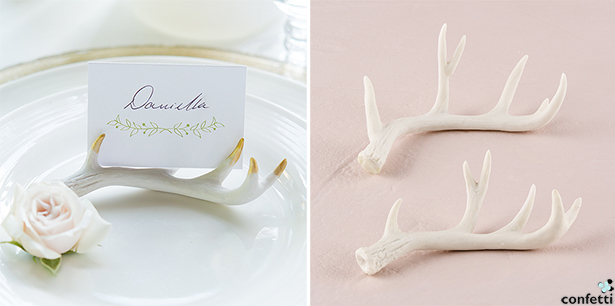Woodland Wedding Place Card Holders | Confetti.co.uk