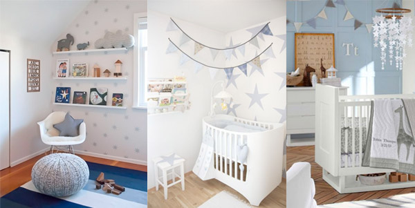 Baby girl and baby boy nursery ideas for Baby room decoration boy
