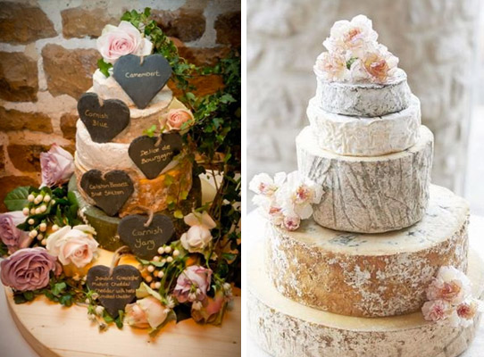 Cheese Alternative Wedding Cake