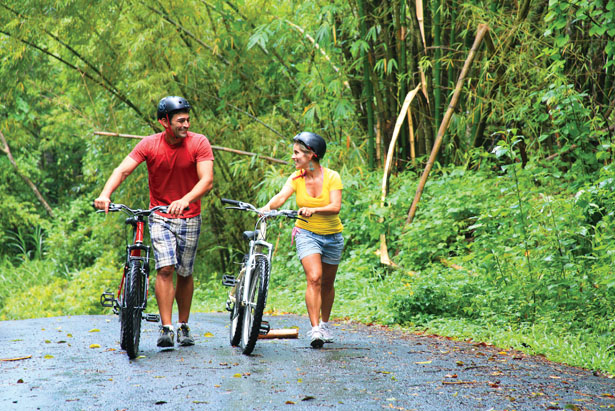 Cycle through lush rain forests in St Lucia on your honeymoon | Confetti.co.uk