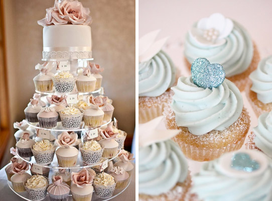 Cupcakes alternative wedding cake