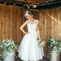 Amanda Wyatt Tea Length Wedding Dress | Confetti.co.uk