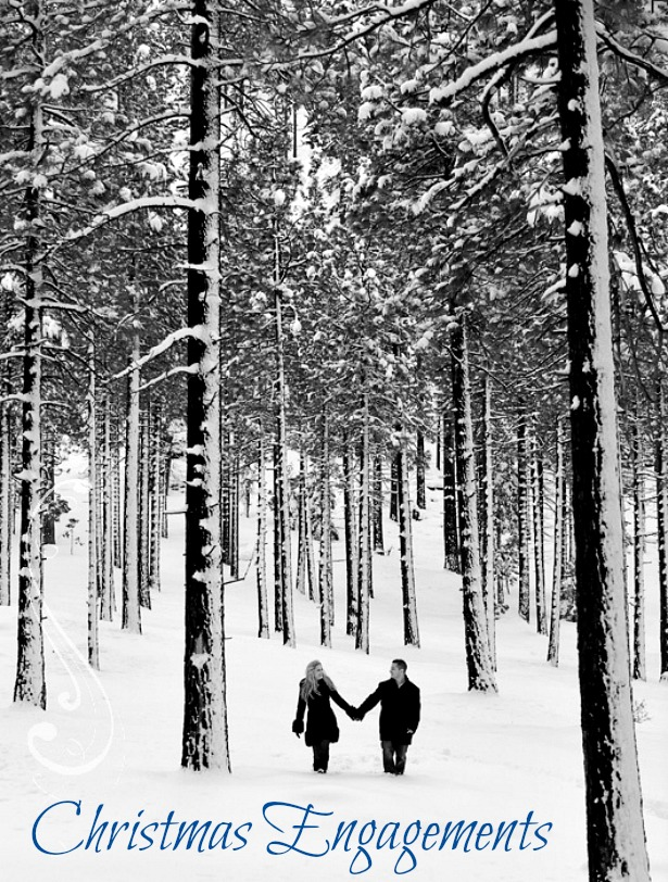 Christmas engagements Photography by Monique via Pinterest | Confetti.co.uk