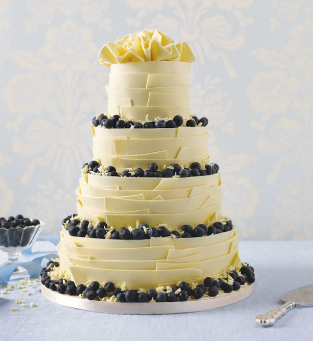 Wedding cake by M&S | Confetti.co.uk