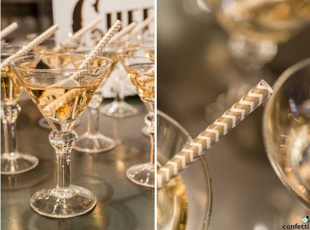 Gold Martinis | Confetti.co.uk