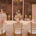 Pink and Gold Wedding | Confetti.co.uk