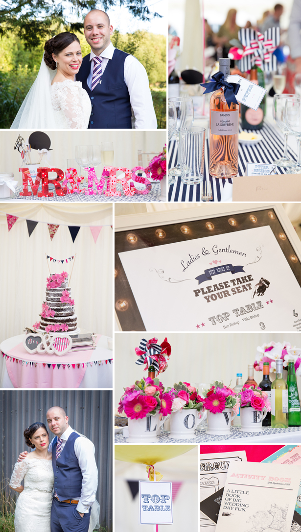 Vikki and Ben's Fairground wedding | Confetti.co.uk