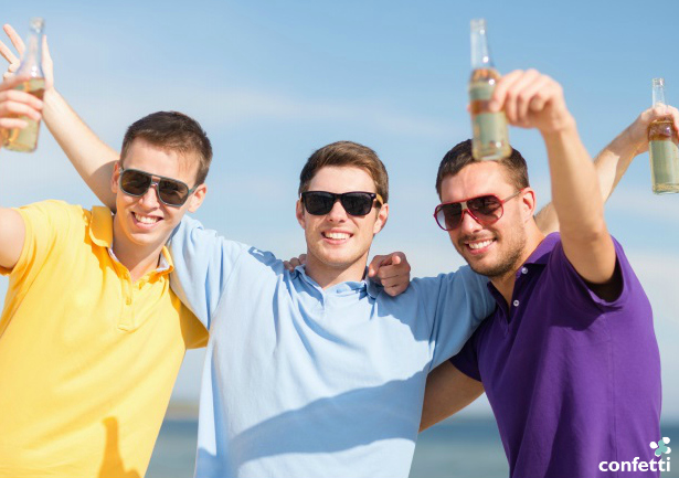 Stag do fun is best served warm with a side of alcohol | Confetti.co.uk