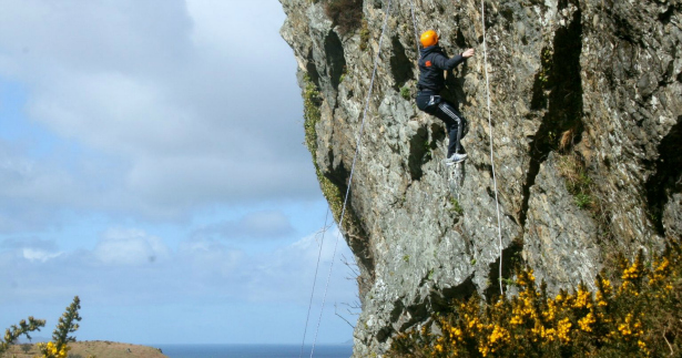 Take in the stunning views of Ireland's West Coast on a mountain honeymoon rock climbing  | Confetti.co.uk