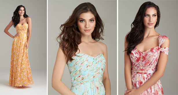 Bohemian Inspired Bridesmaid Dresses by Allure | Confetti.co.uk